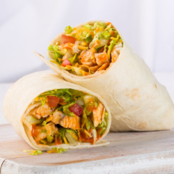 Buffalo Chicken Wrap sold by Earl of Sandwich